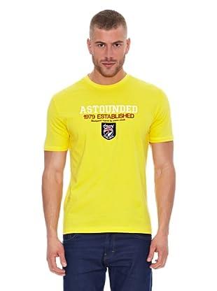 Astounded Camiseta Dakota del Sur (Amarillo)
