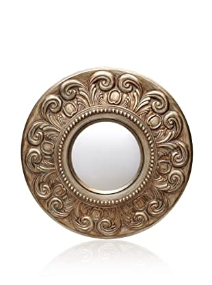 Cooper Classics Mitchell Mirror, Tarnished Bronze
