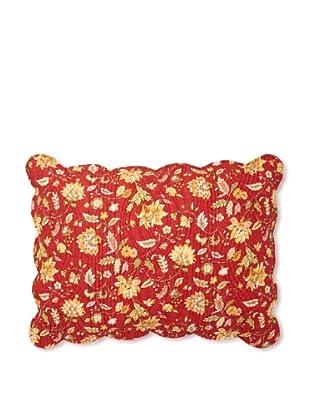 Carleton Pillow Sham, Red, Standard