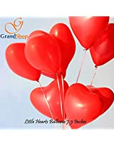 GrandShop 50276 Balloons Heart Shaped Red 7.5' Inch Size (Pack of 50)
