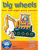 Orchard Toys Big Wheels, Multi Color