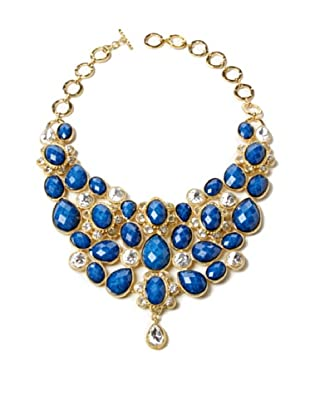 Amrita Singh Collar Crystal South Fork Bib Fall Azul