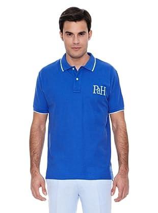 Pedro del Hierro Polo Big Logo Tips (Azul)