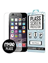 iPhone 6 / iPhone 6S Screen Protector Cover (iPhone 6 4.7 Only), PLASS Clear HD Full Screen Edge To Edge Unbreakable Shatterproof Screen Cover 1-Pack - Better Than Tempered Glass - MPERO