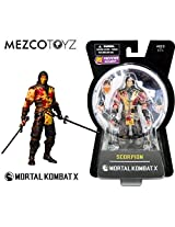 "Mezco Toyz Mortal Kombat X: Scorpion (Bloody Version) 6"" Action Figure Px Previews Exclusive"