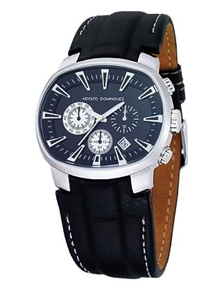 Adolfo Dominguez Watches 70053 - Reloj Unisex cuarzo correa piel Negra