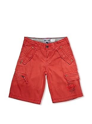 Pepe Jeans London Bermuda Aldan (Rojo)