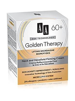 AA Cosmetics Halscreme Age Technology Golden Therapy 60+ 50 ml, Preis/100 ml: 29.9 EUR