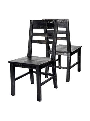 CasaMia Graffiti Set of 2 Chairs