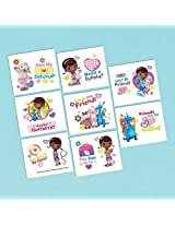 Doc Mc Stuffins Tattoo Favors (16 Pack) Party Supplies