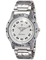 Optima Analog White Dial Men's Watch - FT-ANL-2498