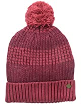 San Diego Hat Co. Men's Marled Yarn Beanie Hat with Cuff and Pom Pom
