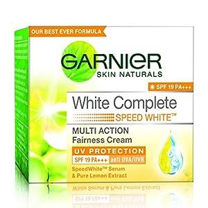 Garnier White Complete Speed White Cream, 40g