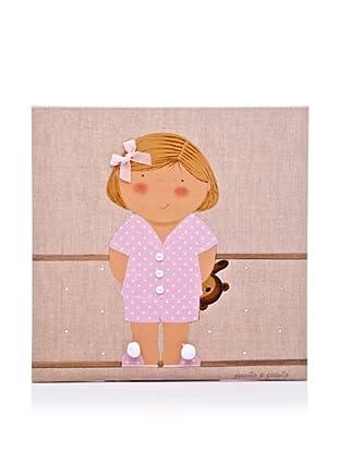 Pasito a Pasito Cuadro Pijama Niña (Rosa)