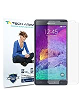 Tech Armor Anti-Glare/Anti-Fingerprint Screen Protector for Samsung Galaxy Note 4 (Pack of 3)
