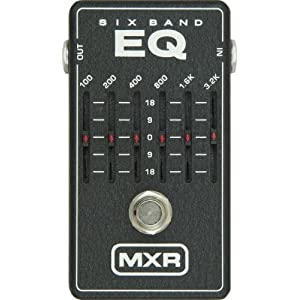 MXR M109 6 Band Graphic EQ