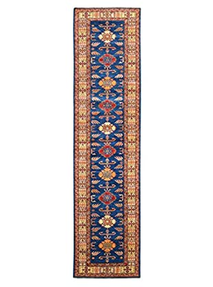 Kalaty One-of-a-Kind Kazak Rug, Navy, 2' 8