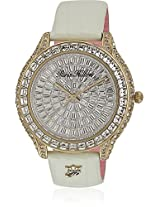 H Ph13577jsg/04C Off White/Silver Analog Watch Paris Hilton