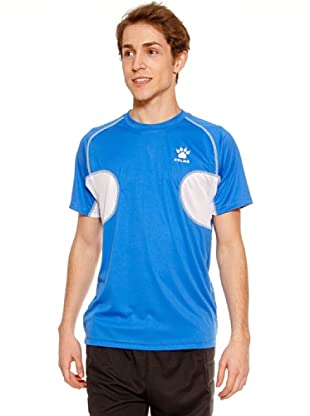 Kelme Camiseta Manga Corta Entreno (Azul)