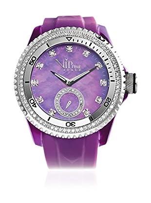 Vip Time Italy Uhr mit Japanischem Quarzuhrwerk VP8021PU_PU violett 43.00  mm
