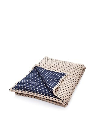 Lexington Company Colcha Estrellas (Azul / Beige)