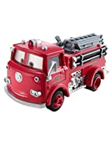 Disney Cars Deluxe Mega Wheel Well Motel Red Fire Truck