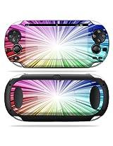 Protective Vinyl Skin Decal Cover for PS Vita PSVITA Playstation Vita Portable Sticker Skins Rainbow Exp