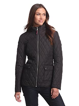 Tommy Hilfiger Women's Quilted Jacket (Black)