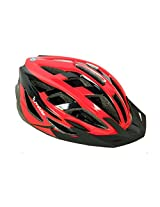 Probike HL2907-R Cycling Helmet -Red and Black (Size-L)