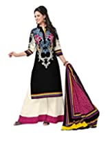 JAVULI pure cotton salwar suit dress material : aarvi-1826A