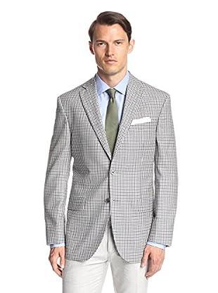 Lanza Men's Multicolored Check Sportcoat