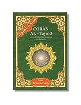 Tajweed Koran Amma Part with French Translation and Transliteration