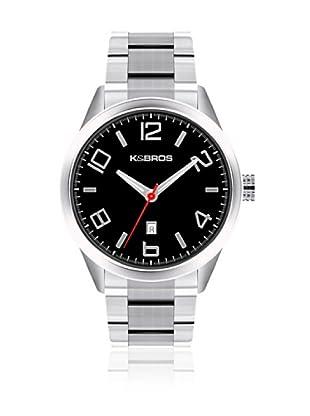 K&BROS Reloj 9483 (Negro)