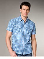 Jachs Camisa  Regular Fit (Azul Claro / Blanco)