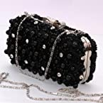 Stylish Bow Handle Clutch : Clutches / Purses