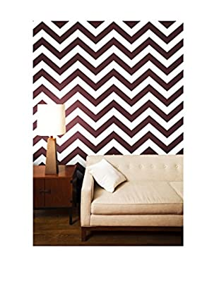 Tempaper Designs Zee Self-Adhesive Temporary Wallpaper, Wild Cherry, 20.5