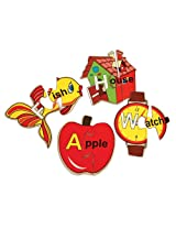 Skillofun Alphabet Picture Puzzle, Multi Color