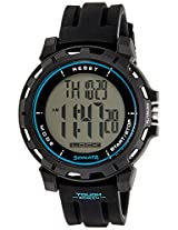 Sonata Ocean Series Digital Black Dial Men's Watch - 77037PP04