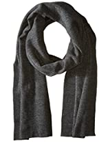 Alternative Clothing & Accessories Slim Eco Fleece Scarf One Size Eco Black