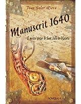 MANUSCRIT 1640 - El mestre pintor de Sant Julià de Vilatorta