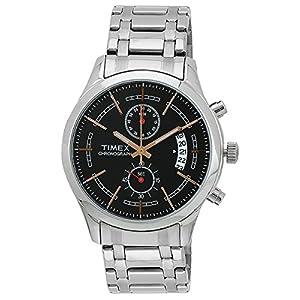 Timex Fashion Chronograph Black Dial Men's Watch - M203