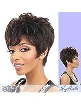H. Bree (Motown Tress) Human Hair Full Wig In 1 B