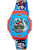 Disney Digital Multi-Colour Dial Boy's Watch - DW100474
