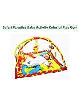 Mastela Safari Paradise Baby Activity Colorful Play Gym Padded Play Mat - For Baby Infants & Toddlers