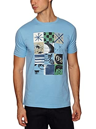 Quiksilver Camiseta Basic Short Sleeve (Azul)