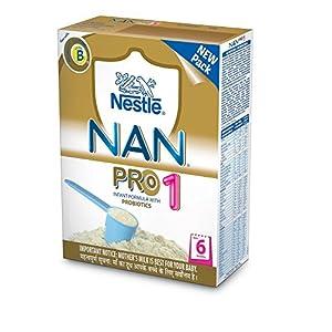 Nestlé NAN PRO 1 Infant Formula (Upto 6 Months) 400g