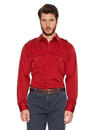 Dockers Camisa K1 Utility (Rojo)