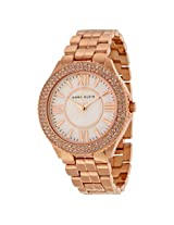 Anne Klein Mother Of Pearl Dial Rose Gold-Tone Ladies Watch - Ank-1430Rmrg