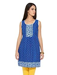 Lovely Lady Ladies Blend Straight Kurta - B00MMEM51Y