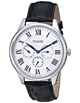 Pulsar Men's PP6173 Analog Display Japanese Quartz Black Watch